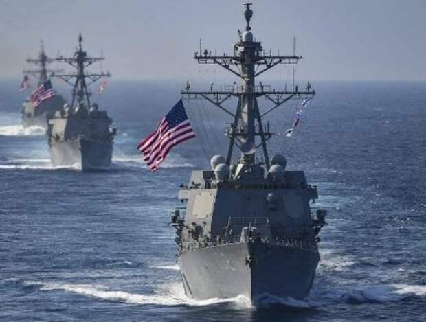 США Китаю – Тихий океан наш