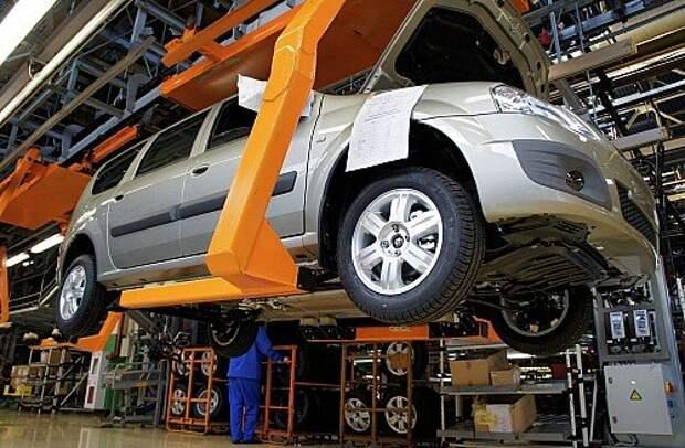 Линия B0 на АВТОВАЗ по выпуск Lada Largus, Nissan Almera, Renault Logan и Sandero