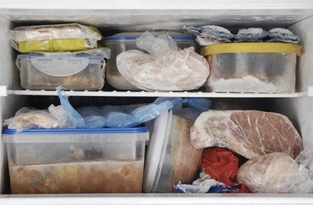 Как правильно хранить продукты в морозилке