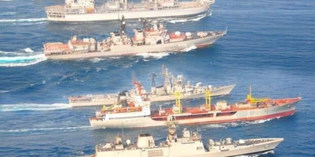 Последнее предупреждение Эрдогану. Большие десантные корабли России идут на юг