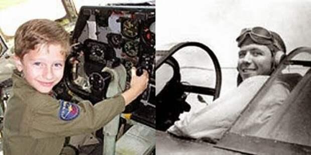 Был ли пилот Второй мировой войны перевоплощен в жителя Лафайета?