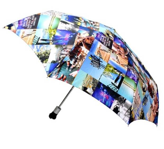 Зонтик с фото из Instagram