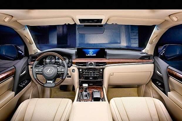 Обновленный Lexus LX: откапываем короля