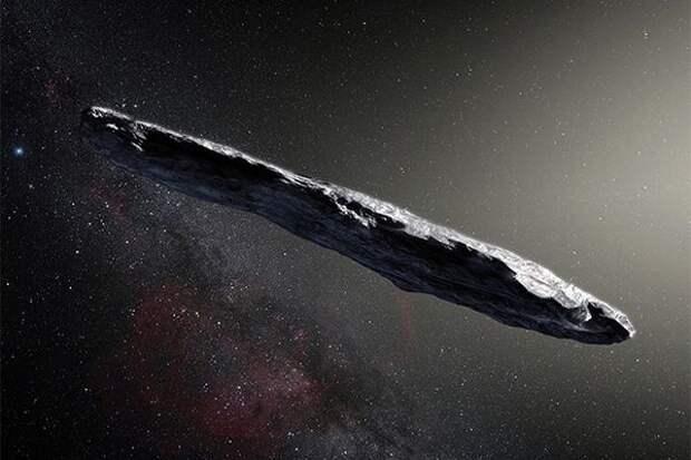 Ученый верит, что Оумуамуа - это корабль пришельцев