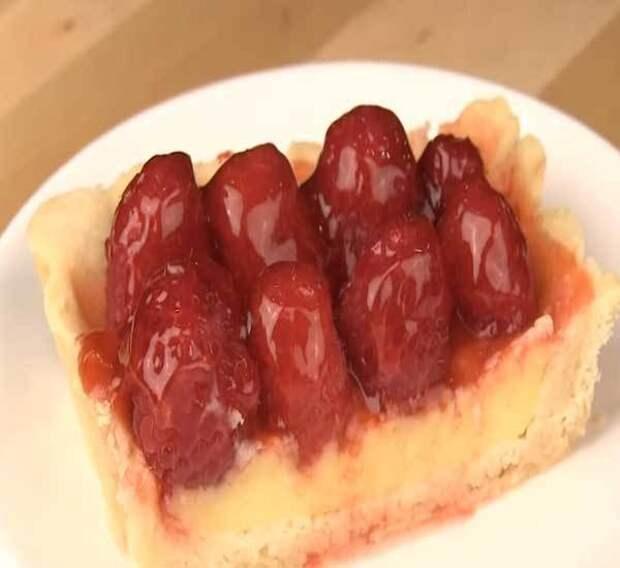 Как приготовить пирог со сливами и яблоками — фото рецепт