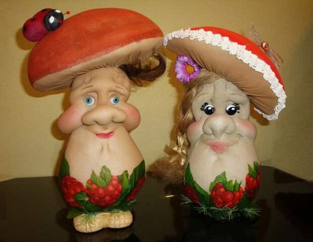 Самодельные куклы из колготок