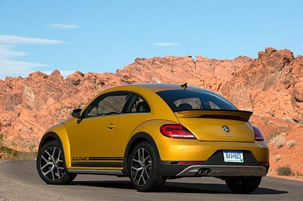 Volkswagen Beetle Dune: «кросс-жуки» прилетели (ФОТО)