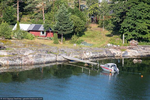На финском пароме по Балтике