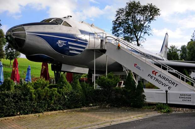 Самолет-ресторан Туполев-104 в Чехии