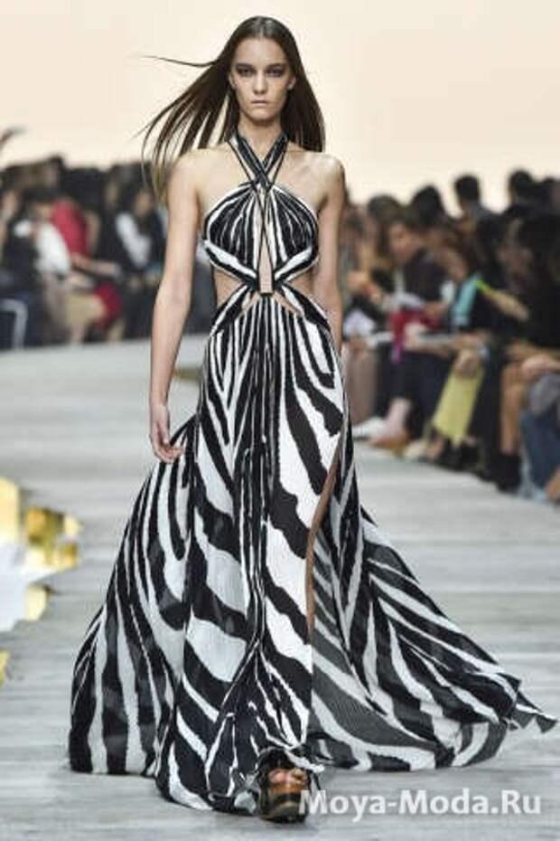 Модные сарафаны весна-лето 2015 Roberto Cavalli