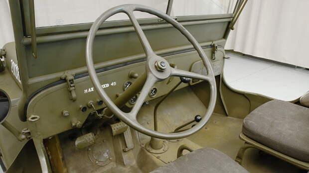 Перчаточный ящик - подарок Willys от инженеров Ford