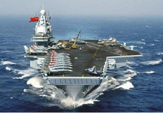Китайский авианосец идёт на помощь России в Сирии
