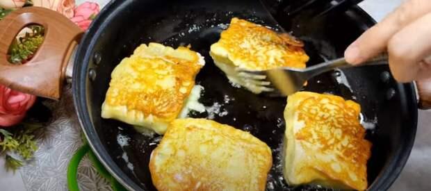 Свекровь научила: легкий рецепт для завтрака или перекуса. Всегда беру с собой в дорогу