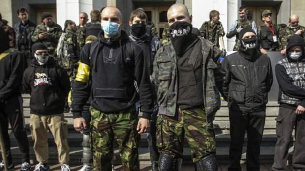 «Правый сектор»: Берём пулеметы, автоматы, «мухи» и идём гнать Порошенко! (видео)