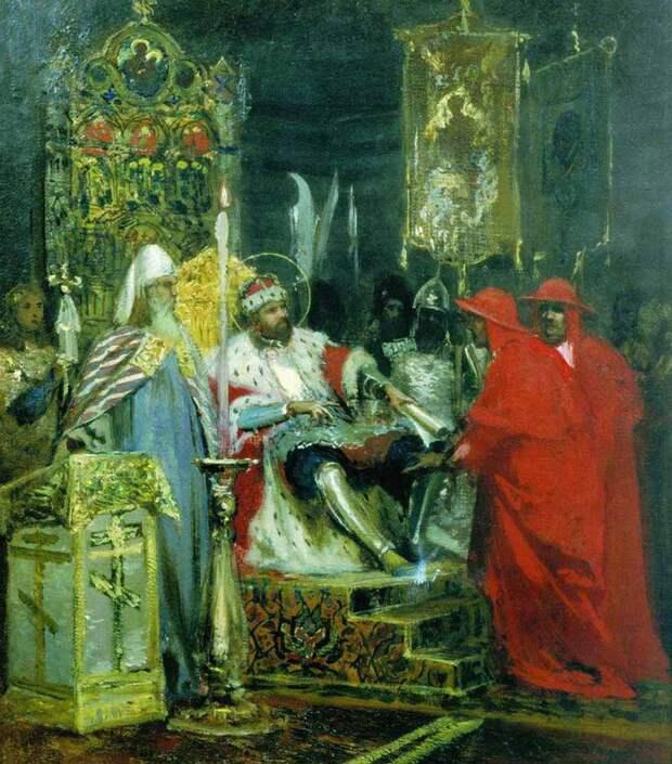 Послания князю Александру Невскому от Папы Иннокентия IV.