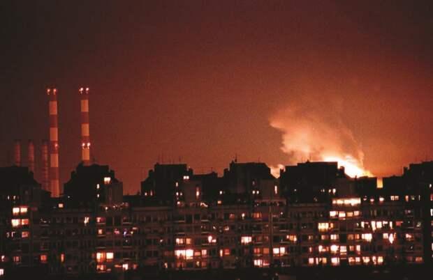 Годовщина бомбёжек Югославии