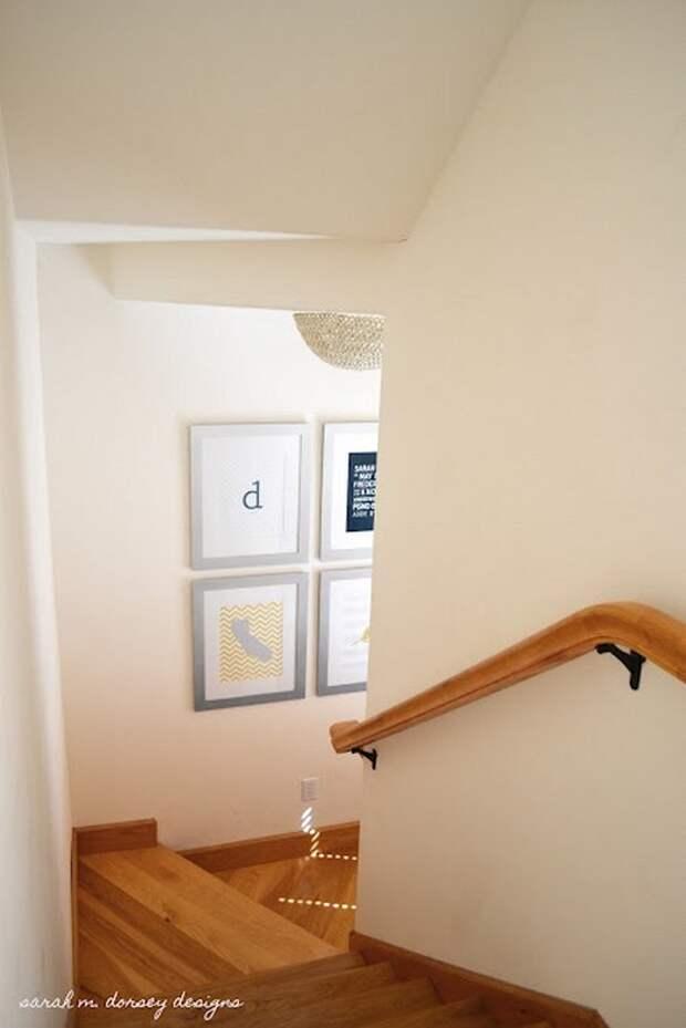 самодельная люстра в интерьере квартиры