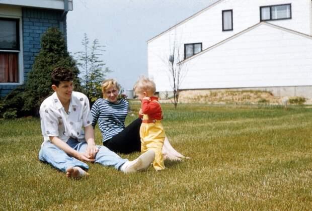 Америка 50-х годов в цвете