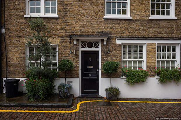 Как выглядит российское посольство в Лондоне