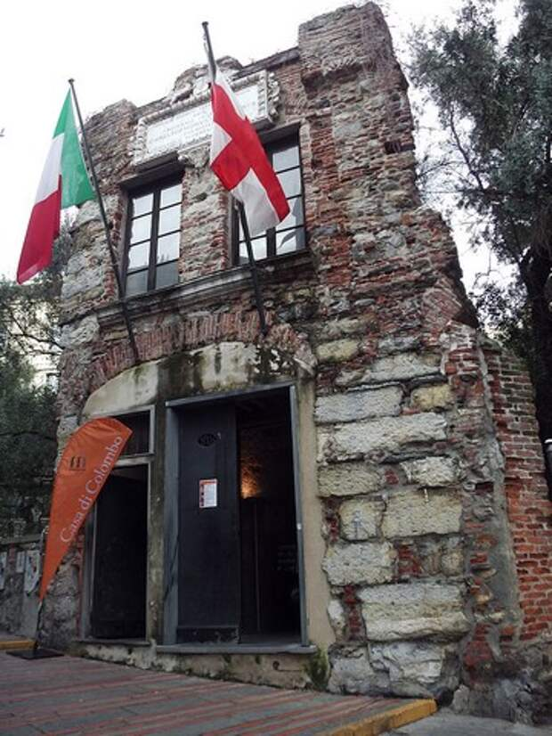 Генуэзская достопримечательность: дом Христофора Колумба
