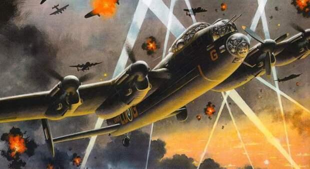 Рейд на Нюрнберг: худшая ночь британских бомбардировщиков