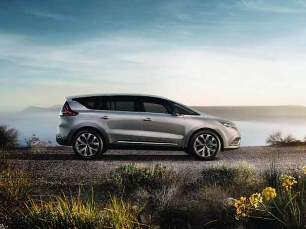 Renault представляет первые изображения кроссовера Espace