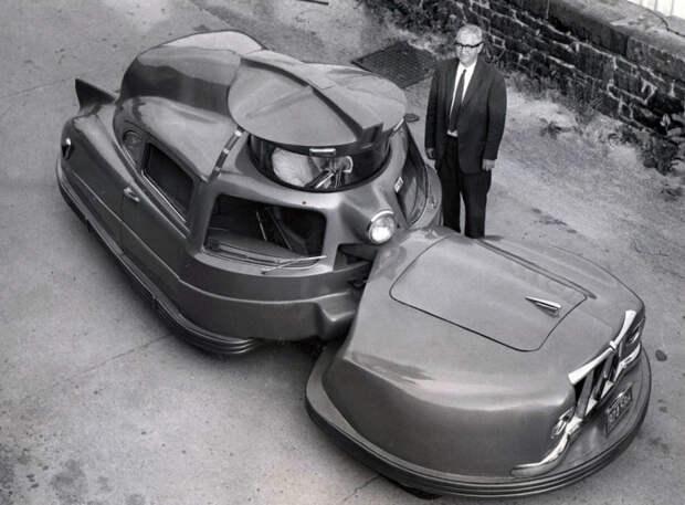 Шаромобиль и куб на колесах: 10 странных автомобилей из прошлого, которые как минимум вызывают недоумение
