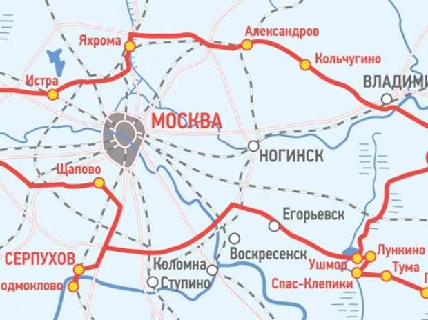 Тысяча километров России: вокруг Москвы