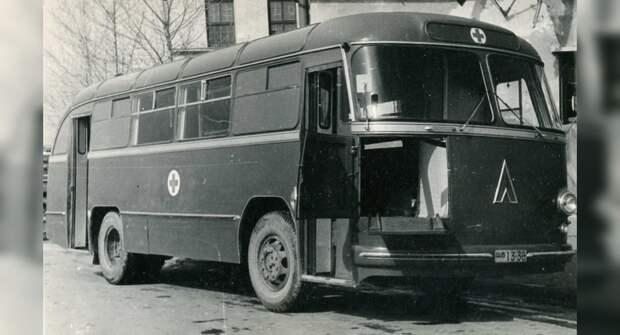 Санитарный автобус на базе ЛАЗ-695Б, который не обрел популярности