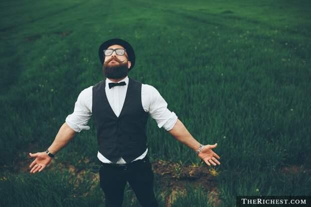8. Борода – помощник в борьбе с аллергией борода, факты