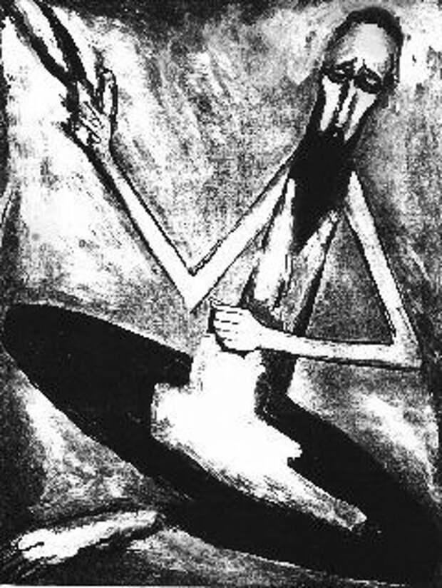 """Гавриил Гликман. Картина """"Еврейский портной»"""