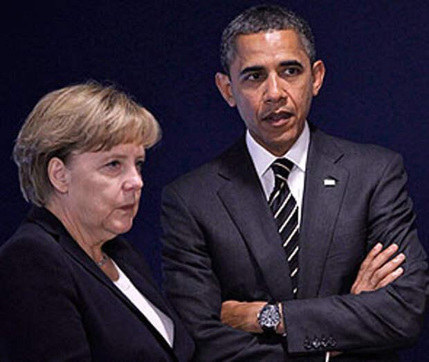 Ангела Меркель и Барак Обама. Фото: ИТАР-ТАСС