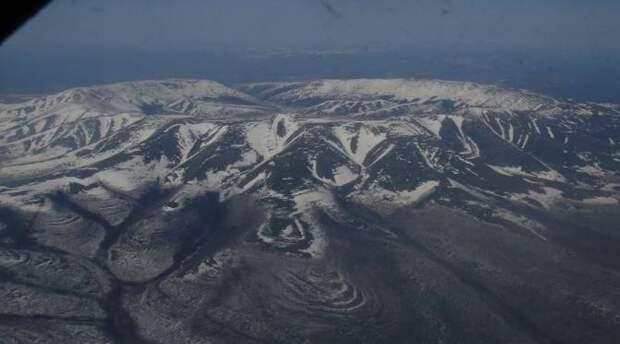 """Глаз Сахары"": Вулкан, эрозия почвы или кратер метеорита?"