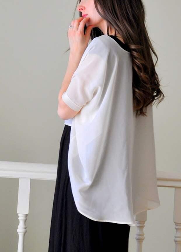 бесплатная выкройка блузки