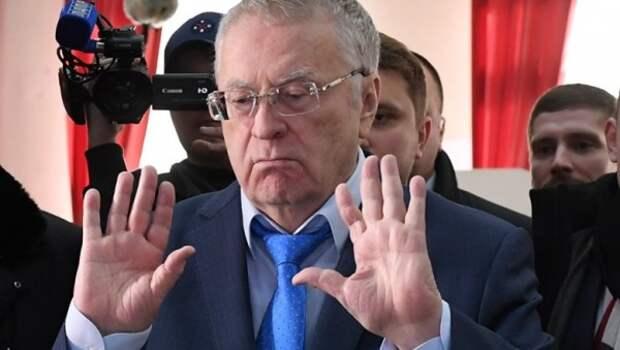 Срочно! Лидер ЛДПР  подрался с прохожим, назвавшим его говном (видео)