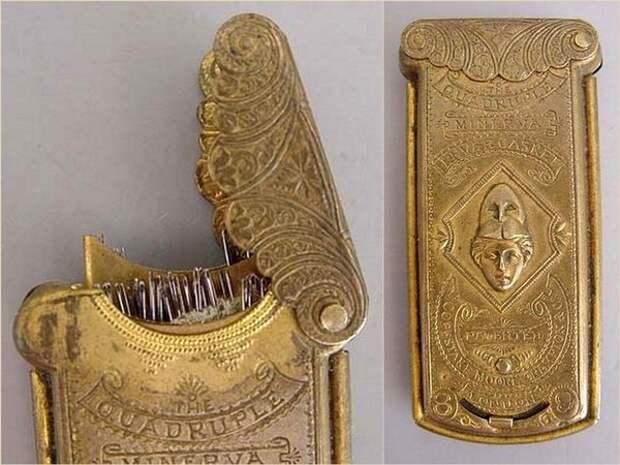 Старинные инструменты для рукоделия (трафик)