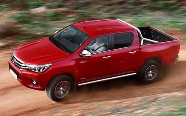 Пикапы Toyota Hilux подвела адгезия – отзыв в России