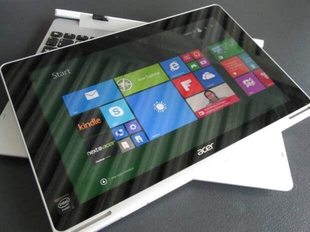 Обновлённый гибридный планшет Acer Aspire Switch 10 получит процессор Atom x5