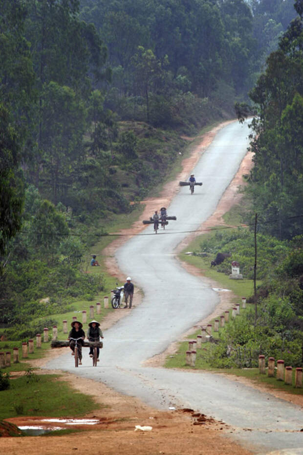 Тропа Хо Ши Мина, Вьетнам и Лаос дорога, путешествие, трасса