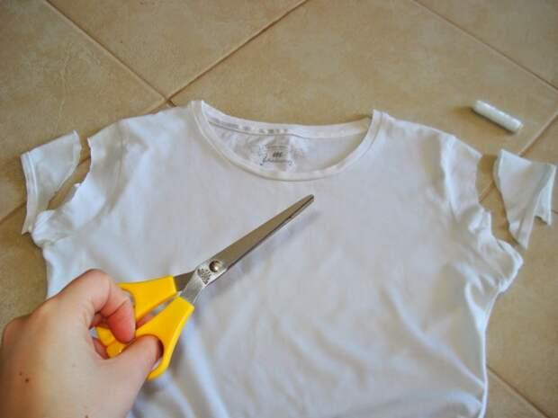 Как украсить футболку (Diy)
