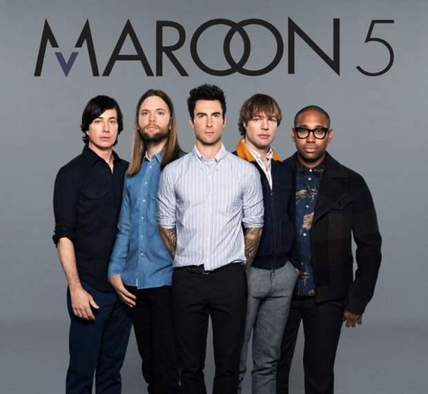 Альбом Maroon 5 «V» поднялся на третью строчку российского чарта iTunes