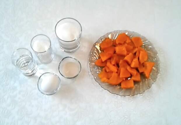 Тыквенный зефир для осеннего чаепития: пошаговый рецепт