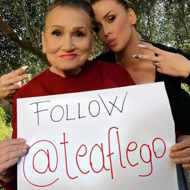 Молодильный мейкап: 80-летняя бабушка всколыхнула Интернет гламурным макияжем
