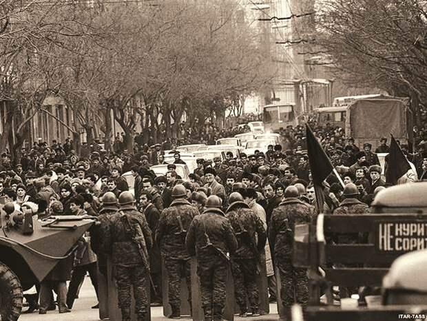 20 января 1990 года подразделения советских войск вошли в Баку