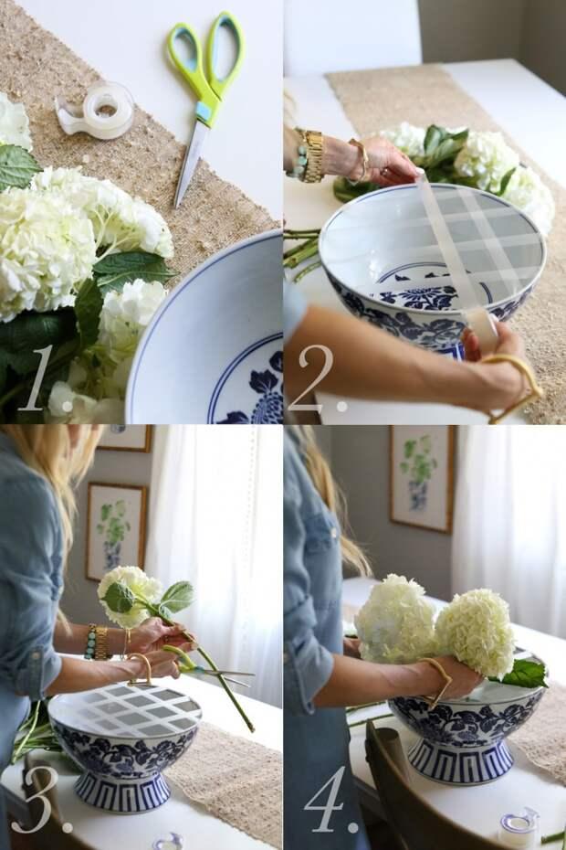 Чтобы цветы не падали (Diy)