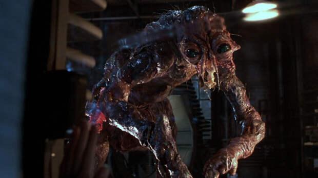 8. Брандл-муха — «Муха» (1986) кино, монстры, фильмы