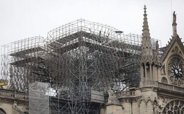 Во Франции исключили версию с предумышленным поджогом Нотр-Дама