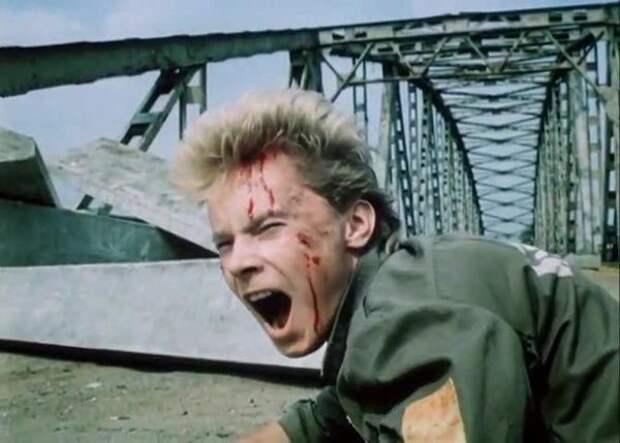 Игорь Пьянков. Кадр из фильма «Ночной экипаж», 1986 год.