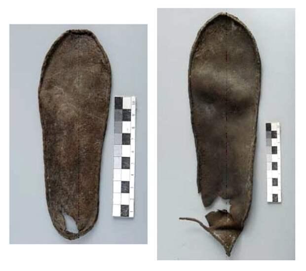 Древнерусская кожаная обувь XII-XIV вв.