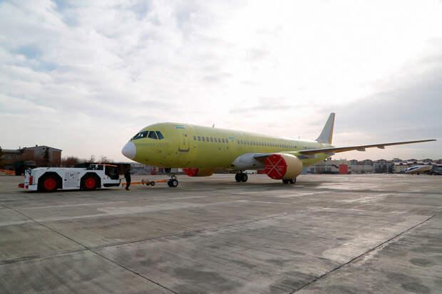 Иркутский авиазавод построил второй самолет МС-21